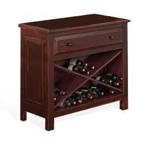 Sunny DesignsAccent Chest w/ Wine Storage