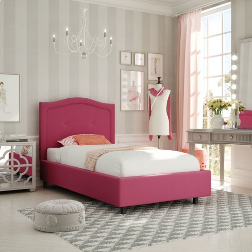 Crocus Upholstered Bed - Twin