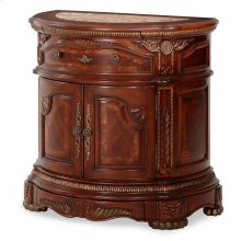 Bedside Chest Honey Walnut