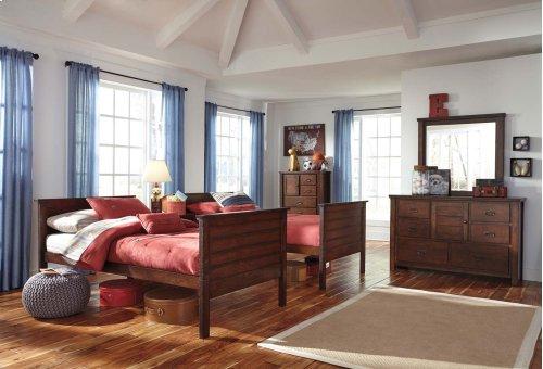 Ladiville - Rustic Brown 2 Piece Bedroom Set