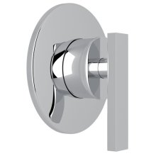 Polished Chrome Pirellone 4-Port, 3-Way Diverter Trim Only with Metal Lever