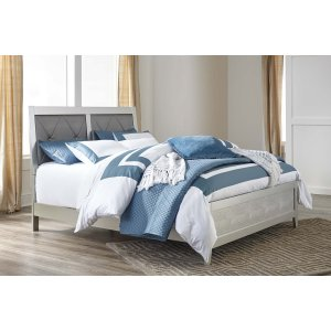 Ashley Furniture Olivet - Silver 2 Piece Bed Set (Queen)