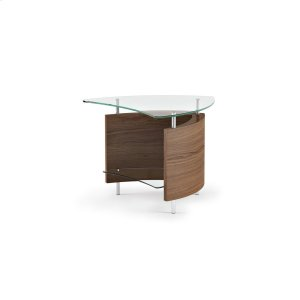 Bdi FurnitureEnd Table 1110 in Natural Walnut