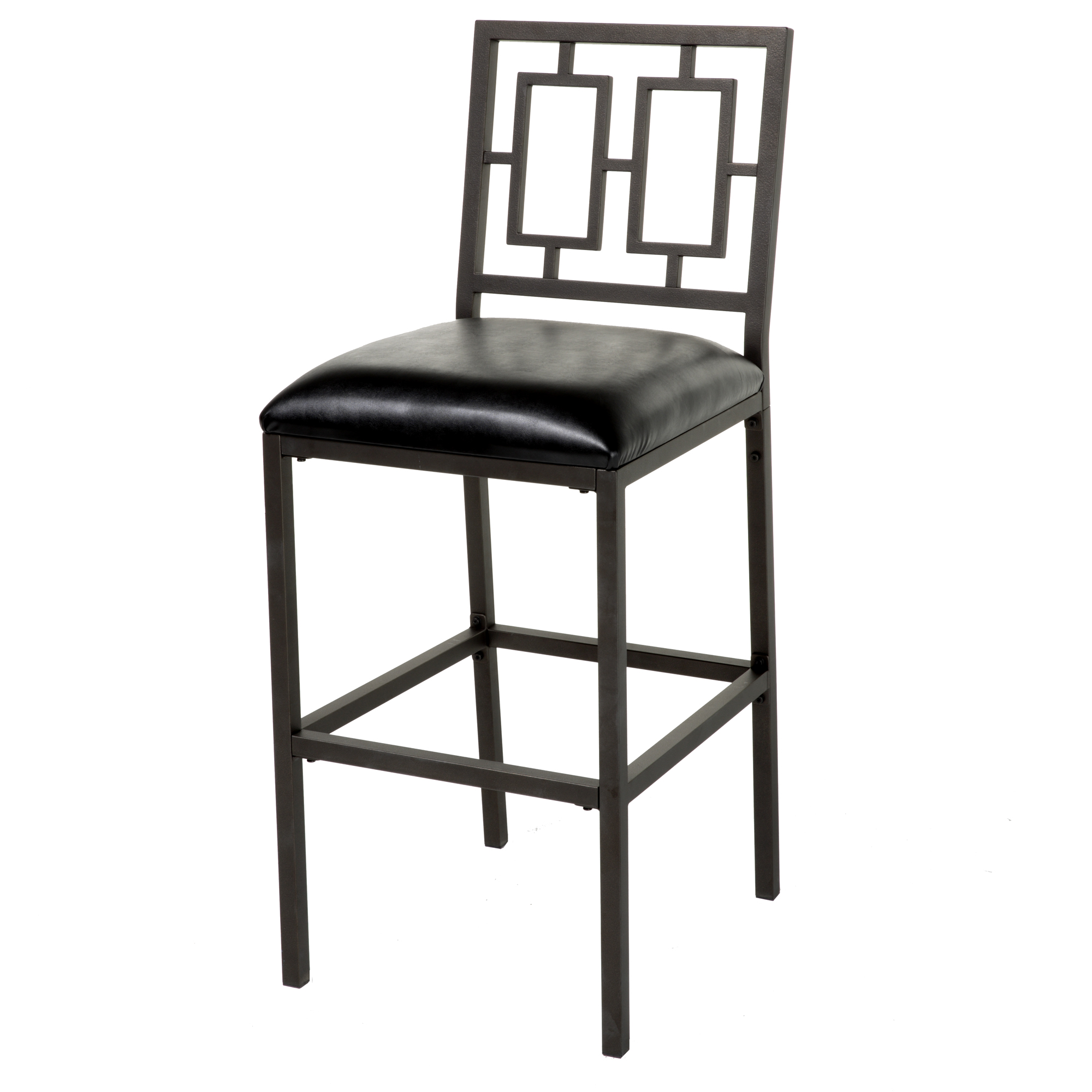 C1m090fashion Bed Group Lansing Bar Stool With Coffee Finished Metal