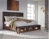 Ralene - Medium Brown 3 Piece Bed Set (Cal King)