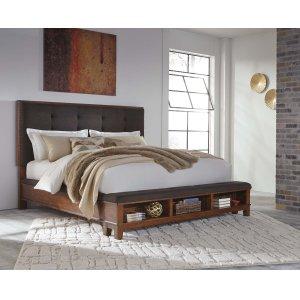 Ashley Furniture Ralene - Medium Brown 3 Piece Bed Set (Cal King)