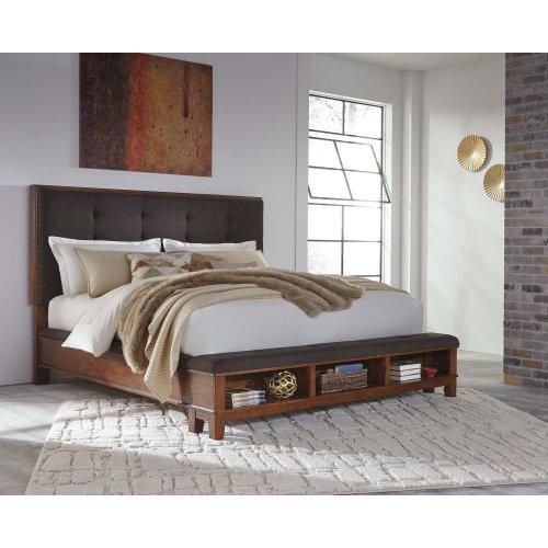 Ralene - Medium Brown 3 Piece Bed Set (Cal King)