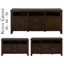 "Kona Grove 60"" Media Unit"