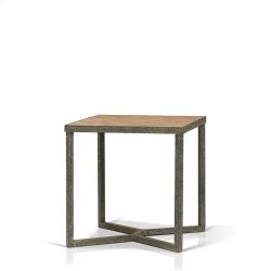 Ripley Parquet Top End Table