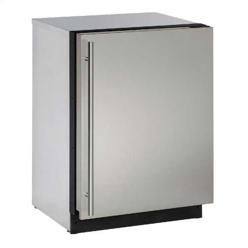 "Modular 3000 Series 24"" Solid Door Refrigerator With Stainless Solid Finish and Field Reversible Door Swing (115 Volts / 60 Hz)"