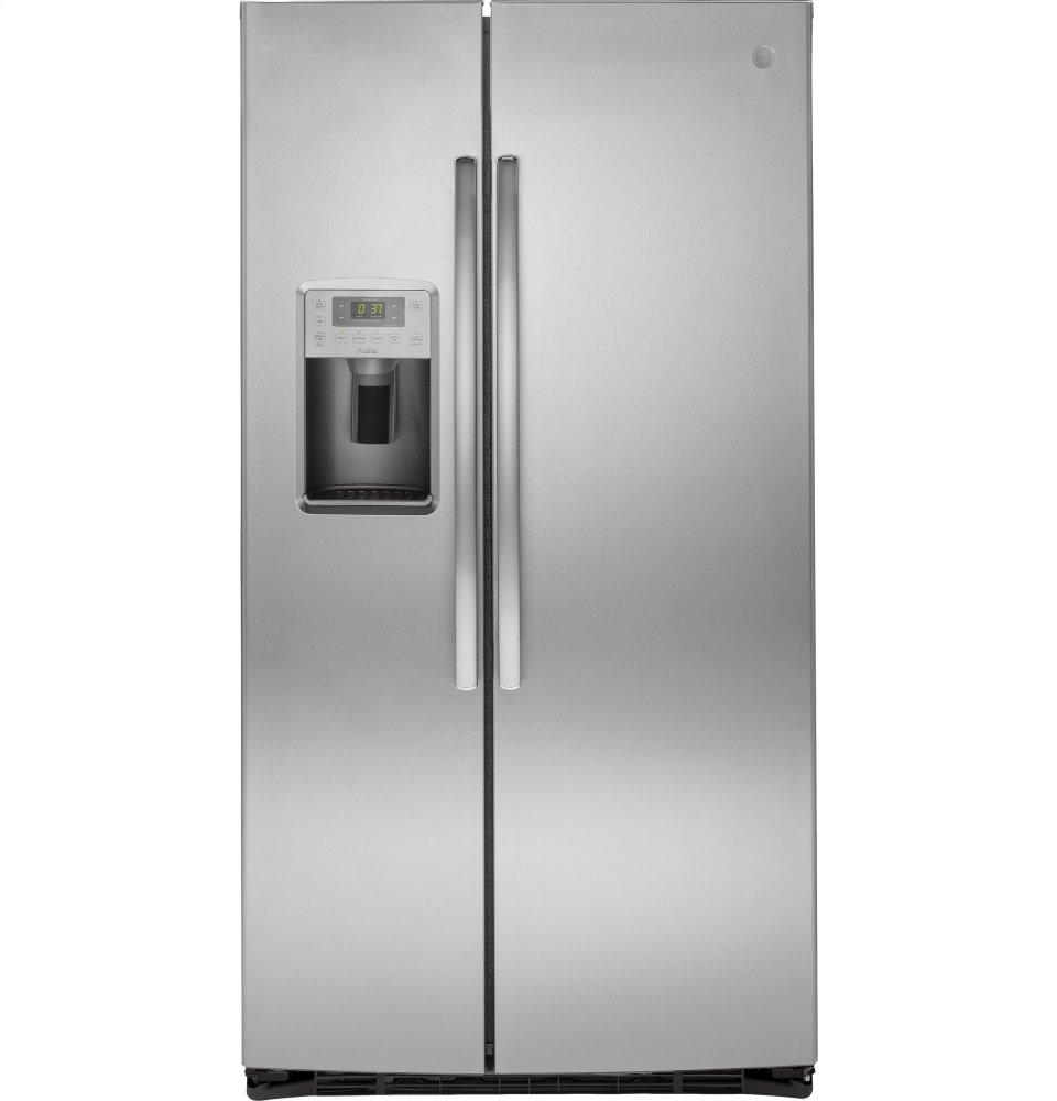 GE ProfileSeries Energy Star® 25.3 Cu. Ft. Side-By-Side Refrigerator