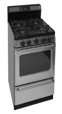 20 in. ProSeries Freestanding Sealed Burner Gas Range in Stainless Steel