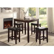 5PC PK COUNTER H. DINING SET Product Image