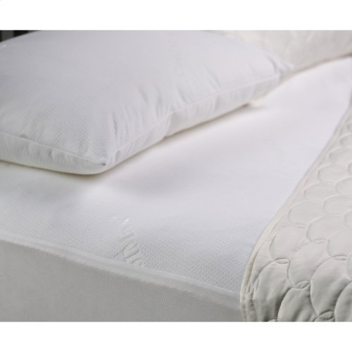 Sleep Chill Mattress Protector with Soft and Moisture Resistant CoolMax Fabric, Queen