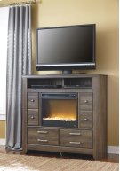 Juararo - Dark Brown 2 Piece Bedroom Set Product Image