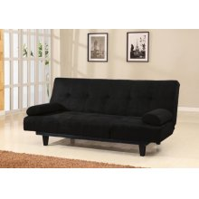 BLACK ADJUSTABLE SOFA
