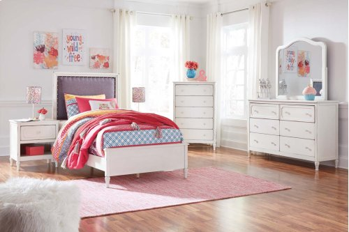 Faelene - Chipped White 3 Piece Bed Set (Twin)