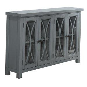 Hillsdale FurnitureBayside 4 Door Cabinet - Robin's Egg Blue