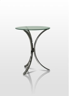 Chrome Round Side Table