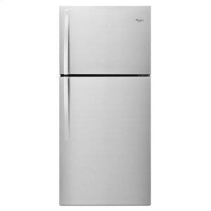 30-inch Wide Top Freezer Refrigerator - 19 cu. ft. - MONOCHROMATIC STAINLESS STEEL