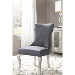 Ashley Furniture Coralayne - Silver Finish Set Of 2 Dining Room Chairs