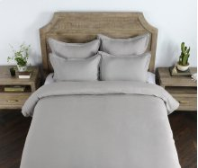 Harlow Gray King Duvet 108x94