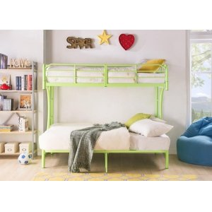 GREEN T/F BUNKBED KD VERSION