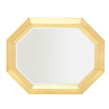 Soho Luxe Metal Mirror