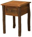 Barnwood One Drawer Nightstand - Hickory Legs Product Image