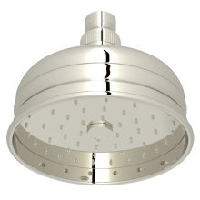 "Polished Nickel 5"" Bordano Rain Anti-Cal Showerhead"