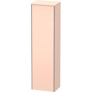 Tall Cabinet, Apricot Pearl Satin Matt Lacquer