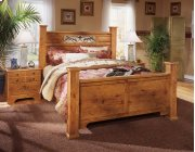 Bittersweet - Light Brown 4 Piece Bed Set (Queen) Product Image