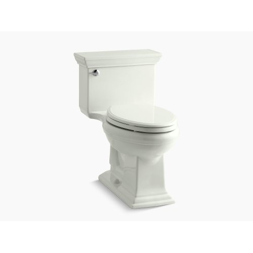 Dune Comfort Height One-piece Elongated 1.28 Gpf Toilet With Aquapiston Flushing Technology and Left-hand Trip Lever