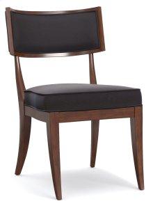 Living Room Upholstered Klismos Chair
