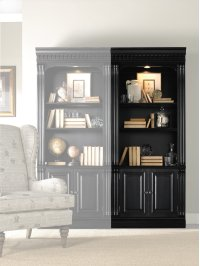 Home Office Telluride Bunching Bookcase (w/doors) Product Image