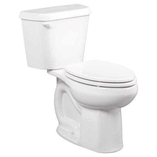 Colony Elongated Toilet - 1.28 GPF - 12-inch Rough-in - White