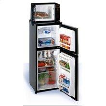 4.0 CU FT. 2- door Refrigerator Freezer with Microwave Oven