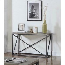 Industrial Sonoma Grey Sofa Table