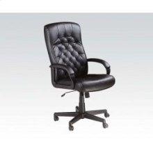 Bk Pu Office Chair W/lift @n