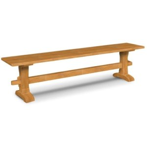 JOHN THOMAS FURNITURETrestle Bench / Trestle Bench Pedestals