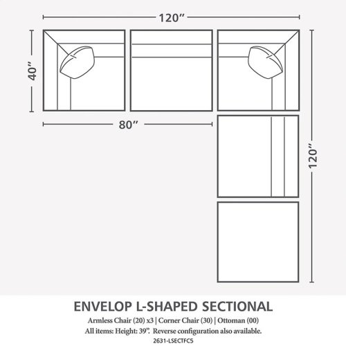 Envelop L-Shaped Sectional
