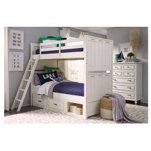 Lake House Twin over Full Bunk Bed
