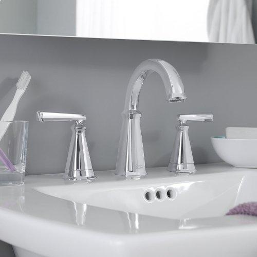 "Edgemere Pedestal Sink  8"" Widespead Faucet Holes  American Standard - White"