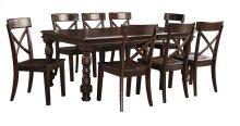 Gerlane - Dark Brown 9 Piece Dining Room Set