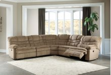 Zavion - Caramel 5 Piece Sectional