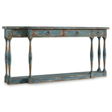 Living Room Sanctuary Four-Drawer Thin Console