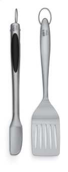 WEBER STYLE - Stainless Steel Two-Piece Barbecue Tool Set Product Image