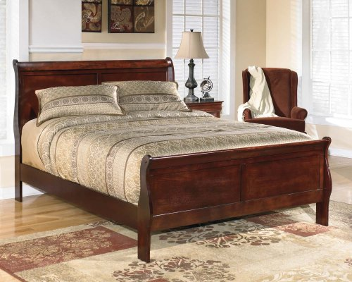 Alisdair - Dark Brown 2 Piece Bed Set (Queen)