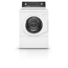 White Right Hand Hinge Front Load Washer
