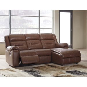 Ashley Furniture Coahoma - Chestnut 3 Piece Sectional